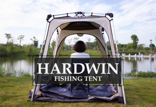 The HARDWIN Fishing Tent Offers Instant Convenience and Comfort