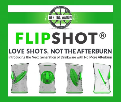 The FlipShot Shot Glass Eliminates the Burn With Inspired Innovation