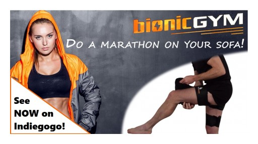 BionicGym Has Been Proven to Provide the Physical Equivalent of Running a Marathon While Sitting on a Sofa